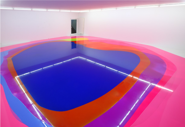Peter Zimmermann @Gegenstandsfreier Kunst, Otterndorf, Germany