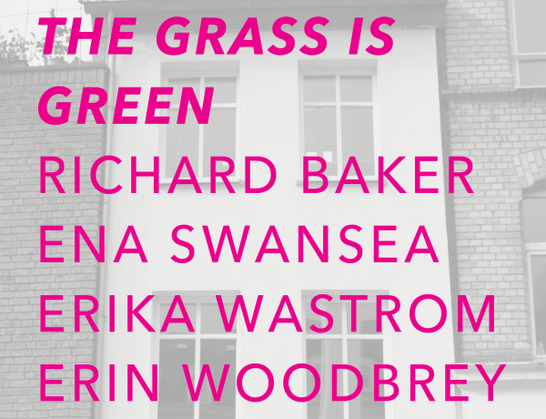 The Grass is Green at Gaa Gallery Project Space Cologne