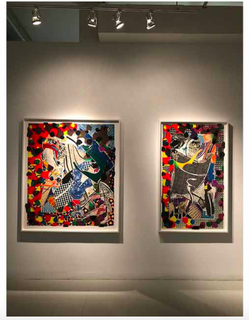 Frank Stella Feature on Art Daily