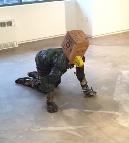 """David Finn's """"Crazed Duck"""" included in """"Something Possible Everywhere: Pier 34 NYC 1983-1984"""""""
