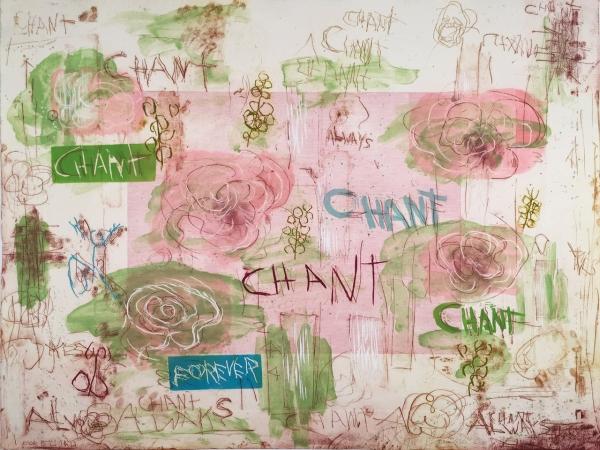 Joan Snyder Exhibit