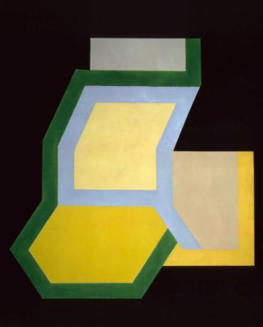 NSU Art Museum - Frank Stella Exhibit