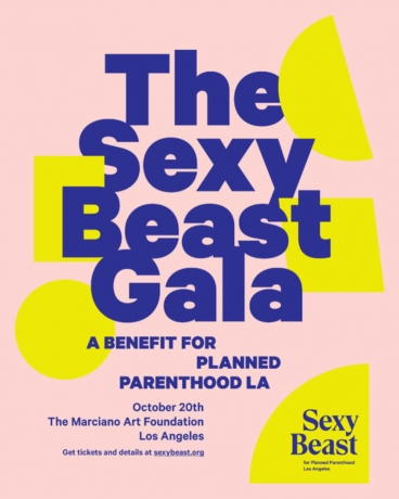 Katherina Olschbaur and Simphiwe Ndzube featured in the Sexy Beast Benefit Auction