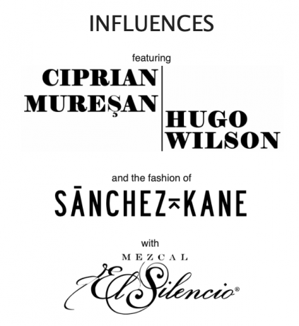 Nicodim Gallery Presents: INFLUENCES. Featuring Hugo Wilson and Ciprian Muresan with Sanchez-Kane and Mezcal El Silencio. RSVP required.