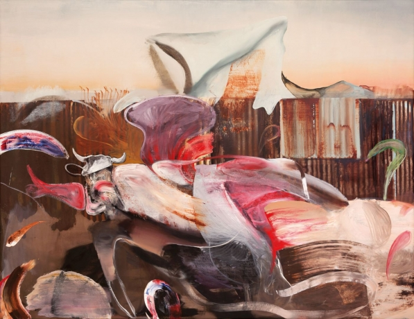 Adrian Ghenie 'I have turned my only face' at the Hermitage Museum, St. Petersburg