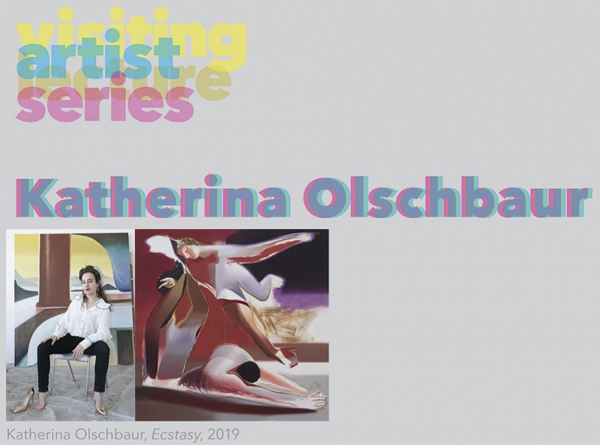 Katherina Olschbaur at the UC Irvine Visiting Artist Lecture Series