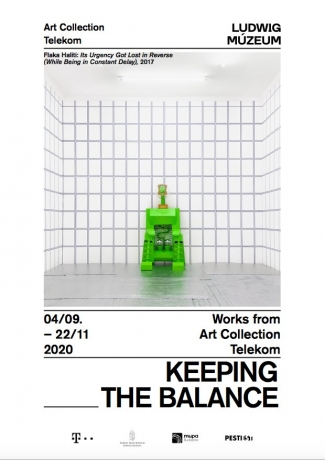 Hortensia Mi Kafchin and Ciprian Muresan in 'Keeping the Balance: The Art Collection Telekom'