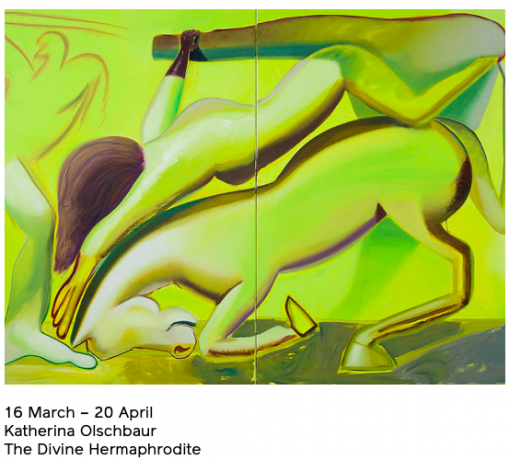 Katherina Olschbaur's Solo Exhibition 'The Divine Hermaphrodite' opens in Berlin at GNYP Gallery