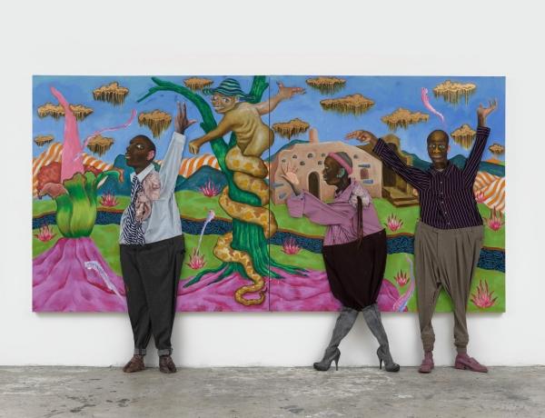 Simphiwe Ndzube: Oracles of the Pink Universe