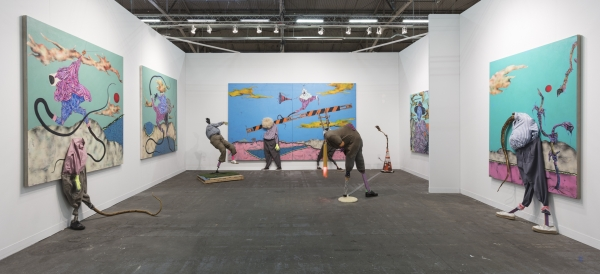 Simphiwe Ndzube: Limbo Colony at The Armory Show, NY