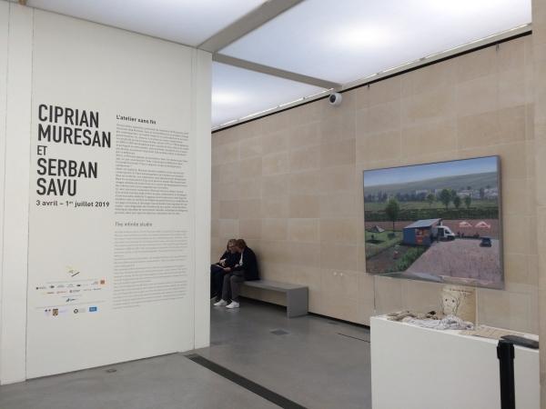 Serban Savu & Ciprian Muresan: L'Atelier Sans Fin at the Brancusi Studio, Centre Pompidou