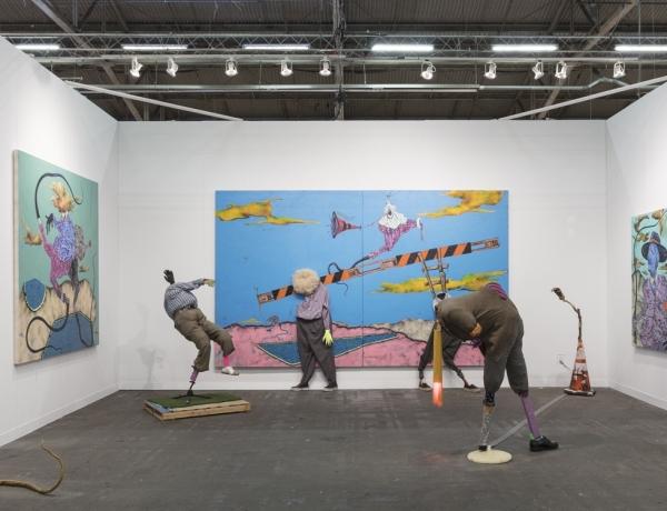 Simphiwe Ndzube: Limbo Colony at The Armory Show, NY