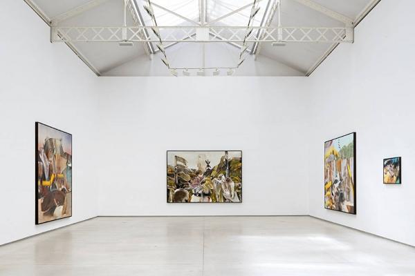 Adrien Ghenie's Solo Show 'Jungles in Paris' opens at Galerie Thaddaeus Ropac