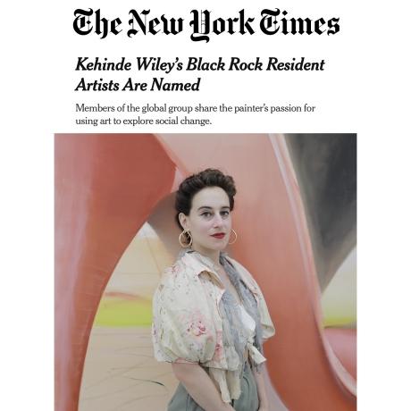 Katherina Olschbaur Named a 2021 Artist-In-Residence at the Black Rock Senegal Residency