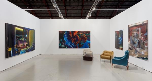 Nicodim Gallery presents Robert Yarber, Simphiwe Ndzube, and Daniel Pitin at Art Los Angeles Contemporary