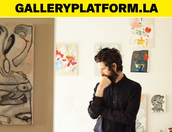 Devendra Banhart's 'The Grief I Have Caused You' on GalleryPlatform.LA