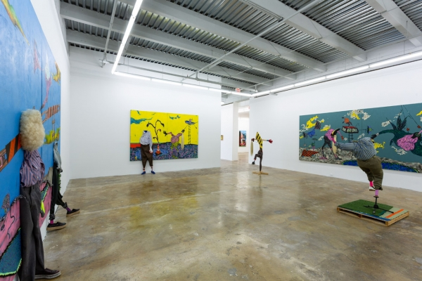 Simphwe Ndzube in 'New Acquisitions' at the Rubell Family Collection