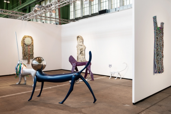 Nicodim Gallery Presents: Moffat Takadiwa & Cristian R?du?? at Art Berlin, Booth 2.B.4