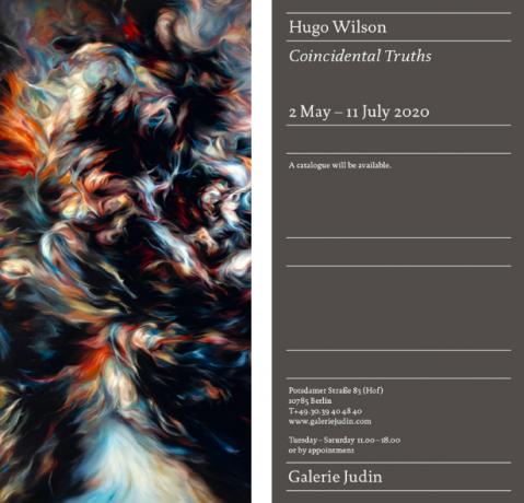 Hugo Wilson: Coincidental Truths at Galeire Judin