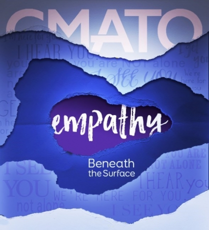 Simphiwe Ndzube in 'Empathy: Beneath the Surface' at the California Museum of Art Thousand Oaks
