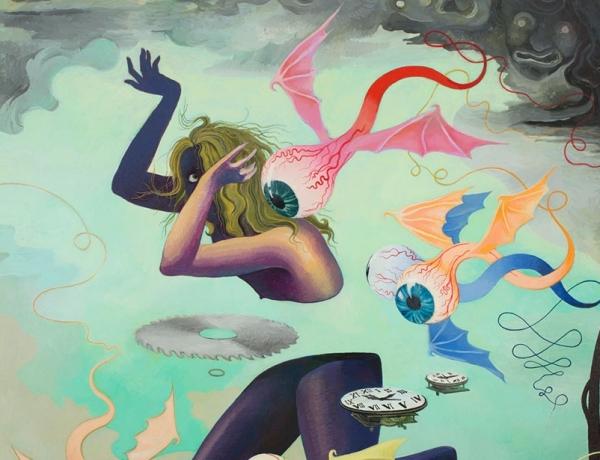 Hortensia Mi Kafchin in 'Otherworlds: Painting Today'