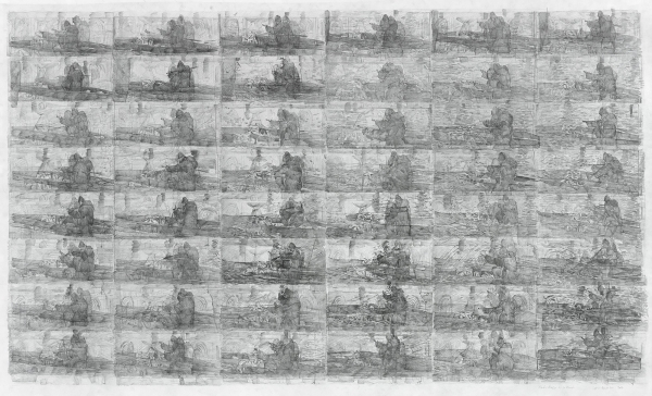 Ciprian Muresan featured in 'A Slice through the World: Contemporary Artists' Drawings' at the Drawing Room and Modern Art Oxford