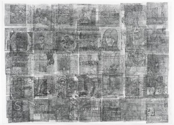 Ciprian Muresan in 'Acquisitions récentes du cabinet d'art graphique' at the Centre Pompidou, Paris