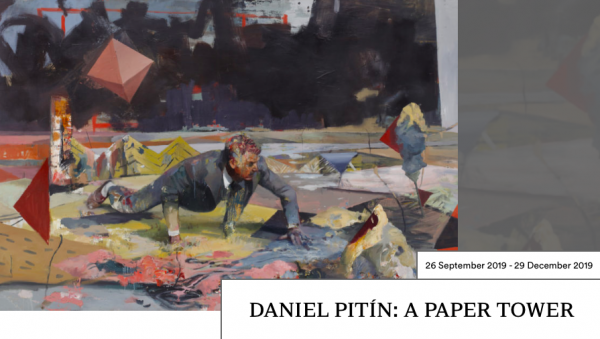 Daniel Pitín: 'A Paper Tower' at Galerie Rudolfinum, Prague
