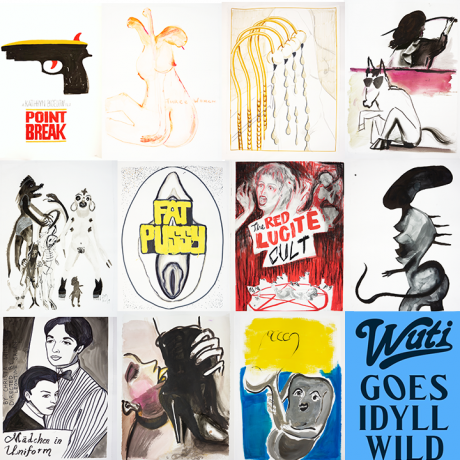 Nicodim Gallery + Tin Flats present Unique Film Posters at Women Under the Influence Goes Idyllwild