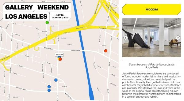 Nicodim Gallery for Gallery Weekend Los Angeles
