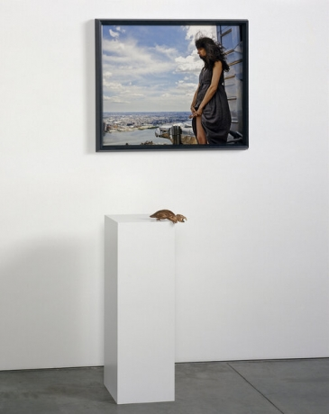 """Janine Antoni in """"All of Them Witches"""" at Jeffrey Deitch, Los Angeles"""