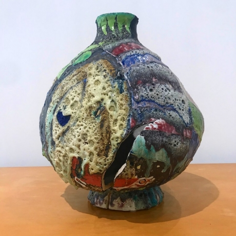 """Tam Van Tran in """"Sample Platter - Contemporary Ceramic"""" at Chapman University"""