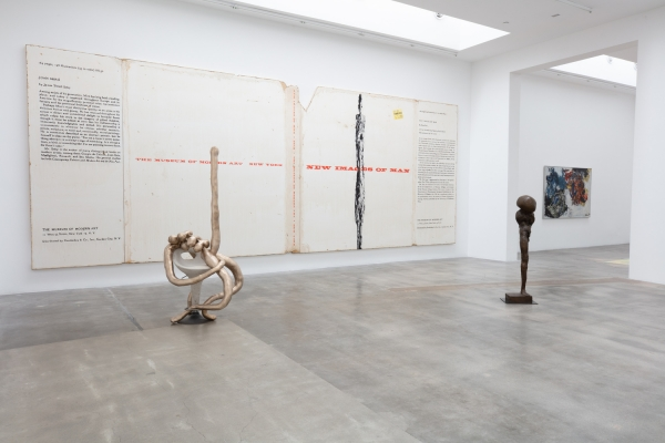 """Dave Muller in """"New Images of Man"""" at Blum & Poe, Los Angeles"""