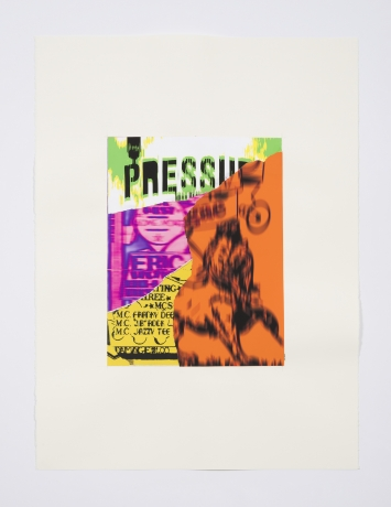 """Gary Simmons in """"Prisoner of Love"""" at the Chicago MCA"""