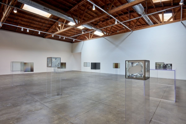 """""""Larry Bell Complete Cubes"""" at Hauser & Wirth, Los Angeles"""