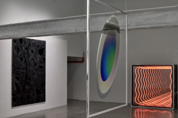 """Larry Bell in """"Shady Beautiful"""" at Malin Gallery, New York"""