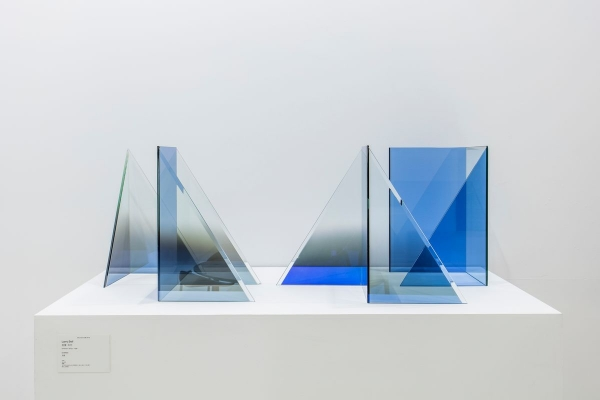 """Larry Bell in a """"Presentation of Gallery Artists"""" at Hauser and Wirth, Hong Kong"""