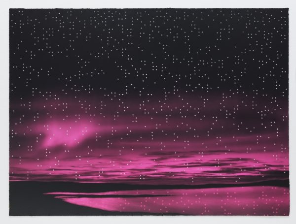 """Teresita Fernández included in """"Touch the Sky: Art and Astronomy"""" at Lehman Loeb Art Center at Vassar College"""