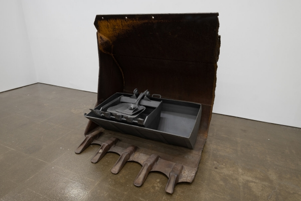 """Janine Antoni in """"How We Live: Selections from the Marc and Livia Straus Family Collection"""" at the Hudson Valley MOCA"""