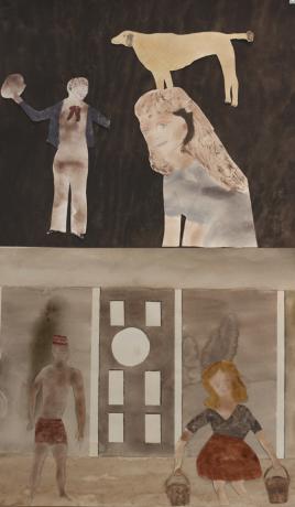 "Jockum Nordström in ""Chemin Papier, l'illustration et ses marges"" at le Signe, National Graphic Design Center in Chaumont"