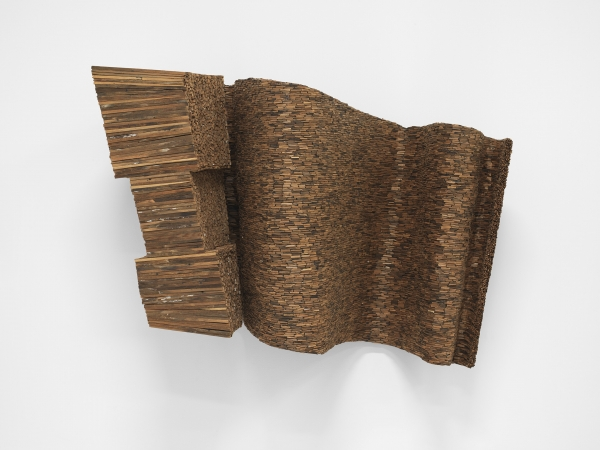 "Leonardo Drew in ""Riffs and Relations: African American Artists and the European Modernist Tradition"" at the Phillips Collection"