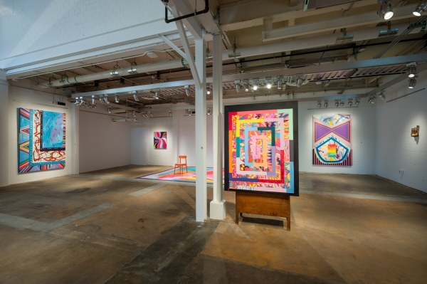 """""""Sarah Cain–In Nature"""" at the Momentary, Bentonville"""