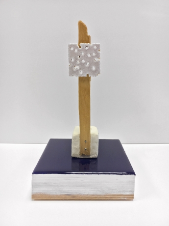 """Donald Moffett in """"100 Sculptures"""" at anonymous gallery, Paris, France"""