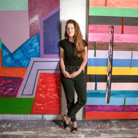 Sarah Cain awarded a 2020 Joan Mitchell Foundation Painters & Sculptors Grant