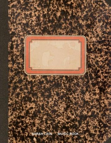 "Pre-order Sarah Cain's ""Music Book"", a 64-page facsimile artist's book"