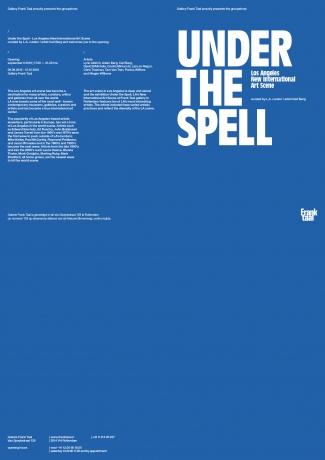 Tam Van Tran in Under The Spell: Los Angeles New International Art Scene