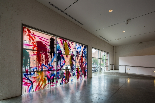 Sarah Cain at Contempoary Art Museum Raleigh