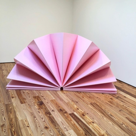 """Tony Feher in """"Color. Theory. & (b/w)"""" at the Sarasota Art Museum, Florida"""