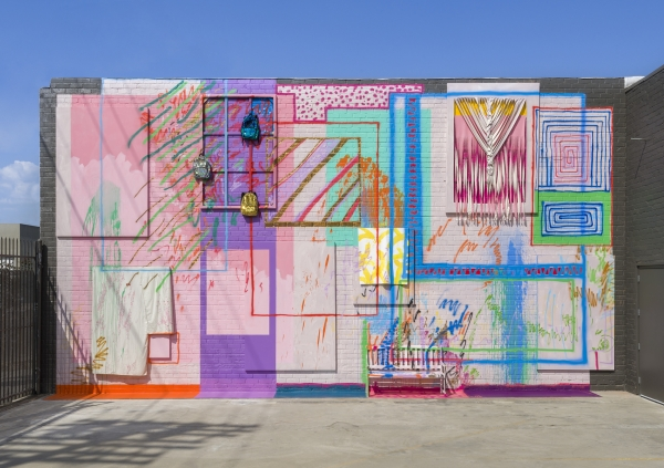 Sarah Cain at the Institute of Contemporary Art, Los Angeles