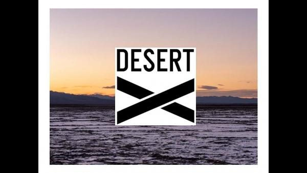 Garry Simmons in Desert X 2019
